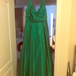 David's bridal emerald size 14 dress